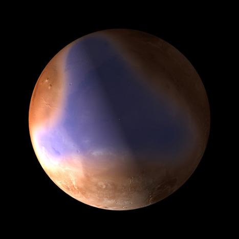 Possibles vestiges d'un océan martien détectés par Mars Express | Mars en août | Scoop.it