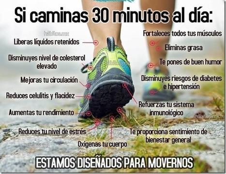 ¿Sabes cuáles son los resultados de caminar 30 minutos al día? | Salud Publica | Scoop.it