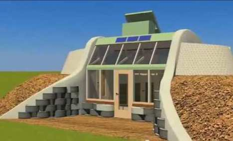 Simple Survival Model Earthship [Michael Reynolds] [Video] | Maison durable | Scoop.it