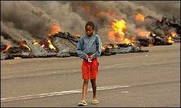 BBC News | AFRICA | Looting and chaos follow Congo eruption | KS4 & KS5 - Plate Tectonics | Scoop.it