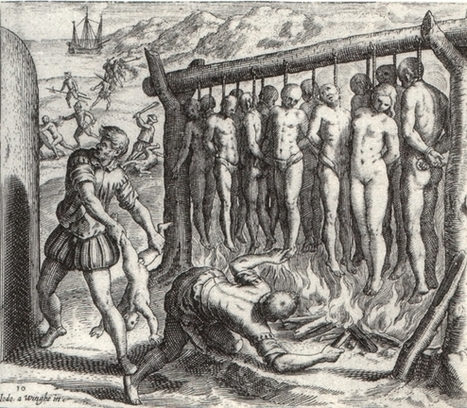 Los brutales grabados que ayudaron a crear la leyenda negra  - Historias de la Historia | Enseñar Geografía e Historia en Secundaria | Scoop.it