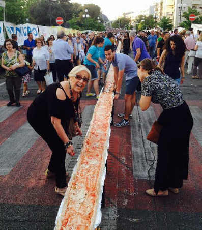 """Pizza al Metro"" in Rende reaches kilometer | Italia Mia | Scoop.it"