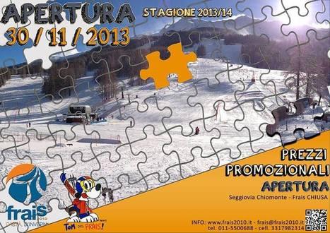 CHIOMONTE - Sabato 30 novembre al via la stagione invernale 2013 - 2014 | Travel to Italy | Scoop.it