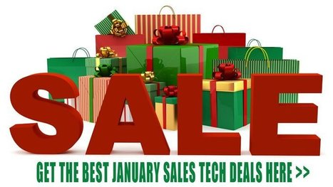 Put up your feet and let us bring you the best January sales tech deals ... - PC Advisor | English Learning House | Scoop.it