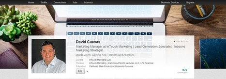 LinkedIn Has A New Profile Design – Watch Out Facebook and Twitter | Social Media | Scoop.it