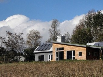 Concept house in Nova Scotia  pushes every green button | Architecture écologique | Scoop.it
