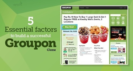 5 essential factors to build a successful Groupon clone | Group Buying Script | Scoop.it