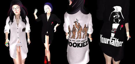 *ShUt Up! I´m AddicteD!!*: Light side vs Dark side hunt (male & female shirts) | Finding SL Freebies | Scoop.it