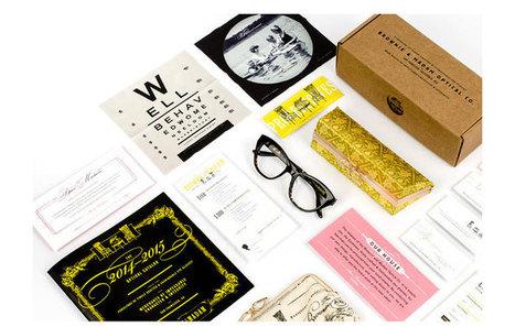 The Brownie and Madam Optical Company - The Dieline (blog) | Optique de créateurs | Scoop.it