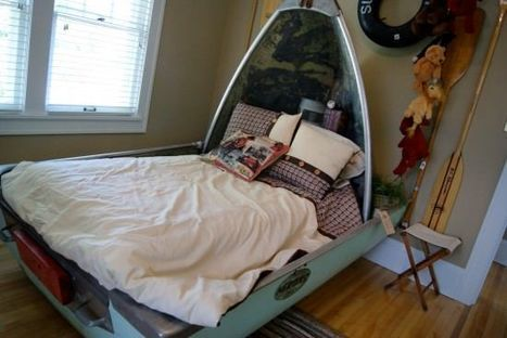 Upcycled Boat Into Bed | Mipygreen | Scoop.it
