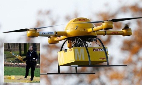 DHL tests delivery drone as airborne robots could be used to deliver medicine | Robots and Robotics | Scoop.it
