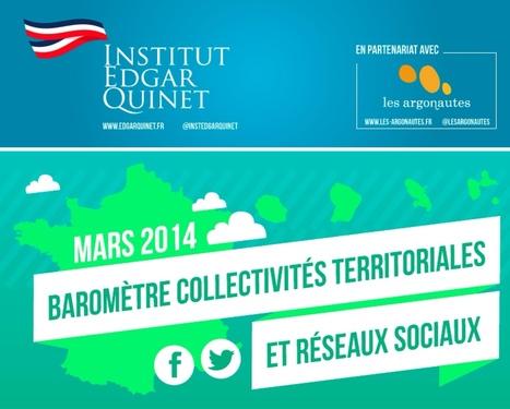 Présence des Collectivités Territoriales sur Facebook et Twitter   Clic France   Scoop.it
