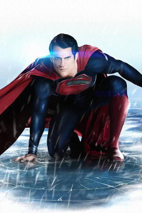 Create Epic Man Of Steel Movie Fan Art in Photoshop | The Official Photoshop Roadmap JournalP | Scoop.it