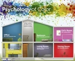 Psicologia del colore nell'arredo di interni | 360° design | Scoop.it