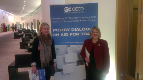 MP Fiona Bruce discussed training entrepreneurs in Sierra Leone | OECD Aid for Trade Policy Dialogue 2013 | Scoop.it