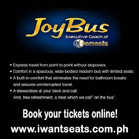 Book your bus ticket online at iwantseats.com.ph | Travel by Bus | Scoop.it