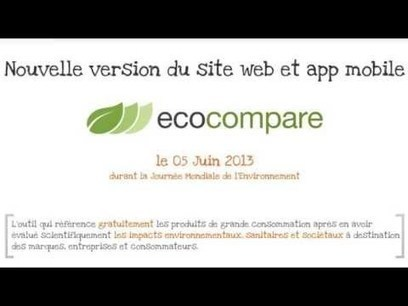 Ecocompare | Applications mobiles citoyennes | Scoop.it