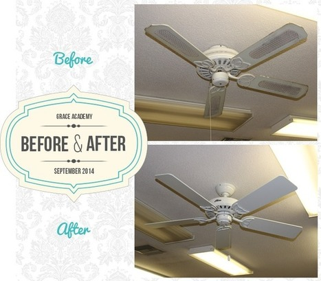 Grace Academy Fan Install for NCFD | Ceiling Fans | Scoop.it