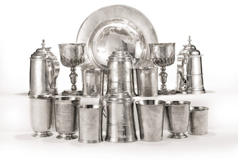 Sotheby's to offer American silver from First Parish Church in Dorchester, MA | American History Fun Facts | Scoop.it