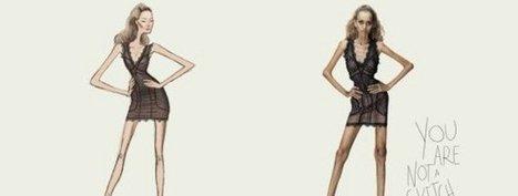 Campaña contra la anorexia: Tú no eres un boceto | CAPsicológica Clínica | Scoop.it