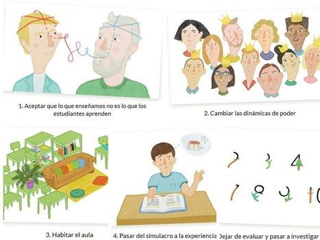 María Acaso: ¿Cómo cambiar el paisaje de la educación?   Recull diari   Scoop.it
