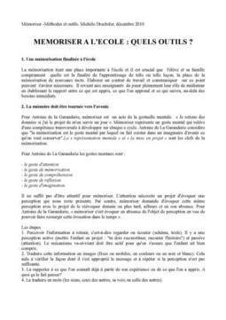 Académie Orléans-Tours. Mémoriser à l'école - Utiliser les flash-cards à l'école primaire | Web2.0 et langues | Scoop.it