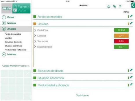 Teva lanza Farmavalor, la 'App' que analiza la gestión económica de la botica | esalud y Farmacia | Scoop.it