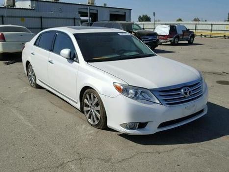 2011 white Toyota Avalon/lim on Sale in Bakersfield, CA | Online Auto Sale | Scoop.it