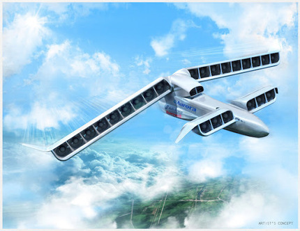 A hybrid electric airplane with vertical takeoff and landing capabilities is… | Developing Innovation : Prototypes in Transport Systems | Scoop.it