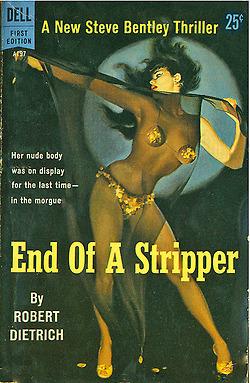 End of a Stripper Vintage Pulp | Sex Work | Scoop.it