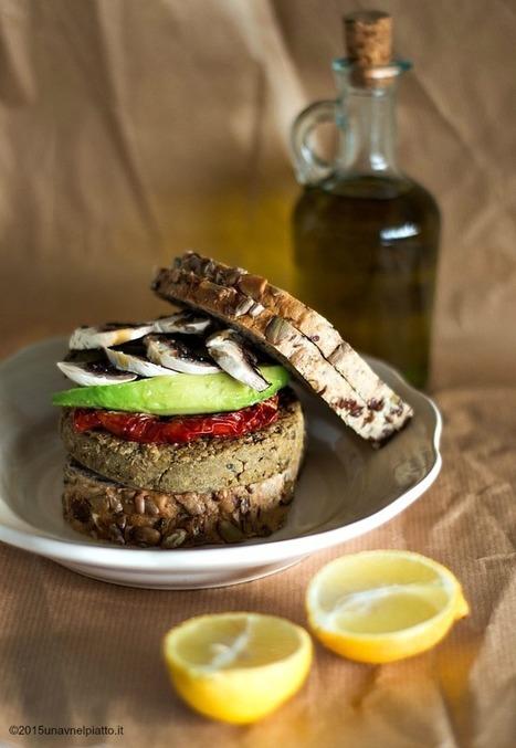 Burger di lenticchie funghi e broccoli - Una V nel piatto - Ricette Vegane e Mondo Vegan   Una V nel Piatto   Scoop.it