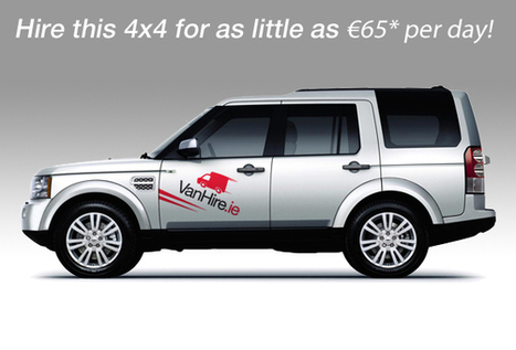 Commercial 4x4 Hire | Hire Today at Low cost - Galway Ireland | VanHire | Scoop.it