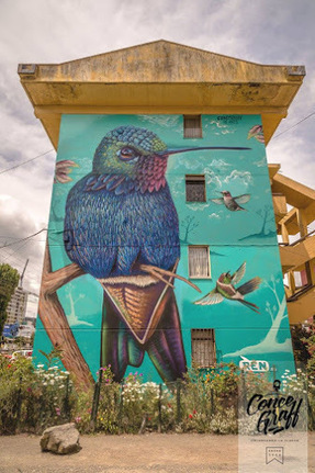 Street art in Concepción VIII, Chile | World of Street & Outdoor Arts | Scoop.it