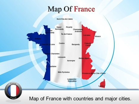 Analysis PowerPoint Template of Map of France | PowerPoint Maps | Scoop.it