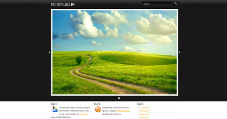 Free Joomla 2.5 template big slideshow | Free Joomla Templates | Run Power Engineering | Scoop.it