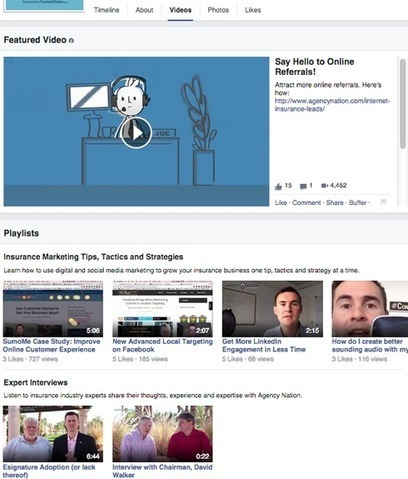 7 Ways to Use Facebook Native Video to Better Connect With Your Fans | Facebook for Business Marketing | Scoop.it