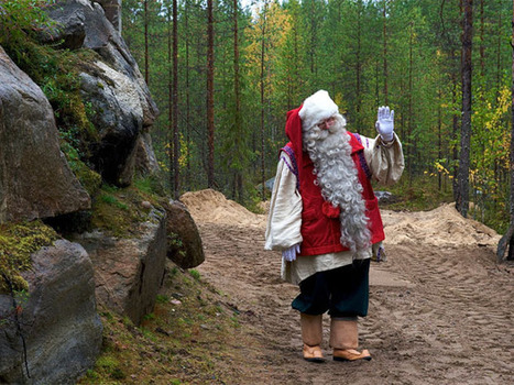 Santa's Lapland: Where does the man in red really live? The Finns say Joulukka - National Post (blog) | Finland | Scoop.it