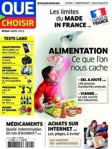 Que Choisir Mensuel n°512 - mars 2013 - | Que choisir | Scoop.it