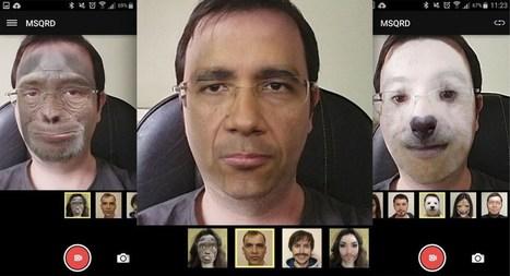 Descarga MSQRD, La App viral que cambia tu rostro para cortos de video   Sociedad y Comunicación Digital (#socdig y #comdig)   Scoop.it