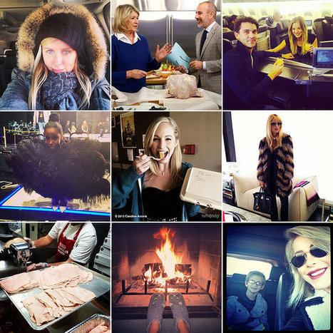 Super Hot Stuf: Stars Kick Off Thanksgiving Celebrations | Make money | Scoop.it