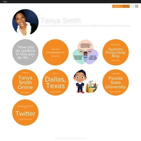 Tanya Smith's Vizify Bio | Overview | Snack Size Content Marketing Strategy | Scoop.it