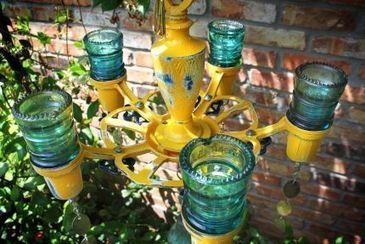 Insulator Candlelabra | Upcycled Garden Style | Scoop.it