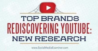 Top Brands Rediscovering YouTube: New Research | Social Media Video | Scoop.it