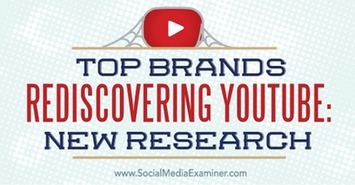 Top Brands Rediscovering YouTube: New Research | The Social Media Times | Scoop.it