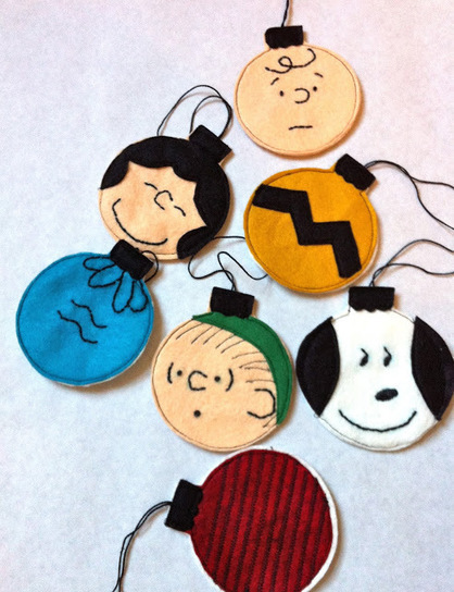 a little gray: Charlie Brown Christmas Ornaments Tutorial | Christmas Decorations | Scoop.it