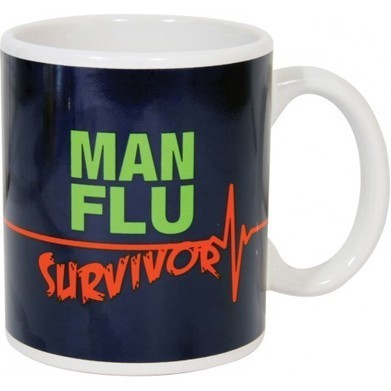 Man Flu Survivor Mug | Virology News | Scoop.it