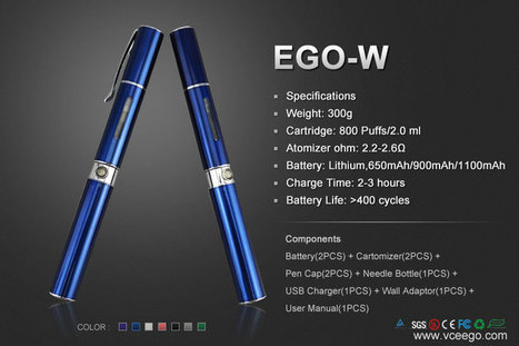Penstyle eGo-W Phantom F1 Kit Ingrosso  at Vceego.com | Vceego Sigaretta Elettronica - Sigarette elettroniche Ingrosso | Scoop.it