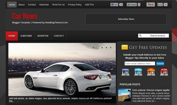 Car News Blogger Template ~ New Blog Themes   Professional Blog Themes For Your Blog   New Blog Themes   Scoop.it