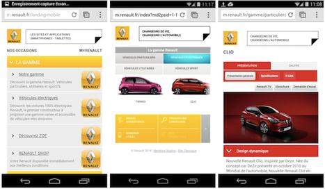 Les constructeurs automobiles français pas encore au point sur les terminaux mobiles - RichCommerce.fr | Digital | Scoop.it