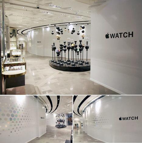Apple choisit les Galeries Lafayette pour son Apple Watch - CNET France   Digital customer & Retail   Scoop.it